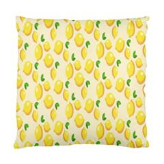 Pattern Template Lemons Yellow Standard Cushion Case (two Sides)