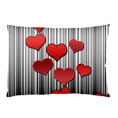Valentines Day Pattern Pillow Case