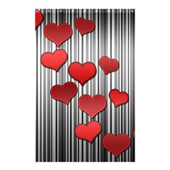 Valentines Day Pattern Shower Curtain 48  X 72  (small)