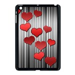 Valentines day pattern Apple iPad Mini Case (Black) Front