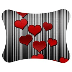 Valentines Day Pattern Jigsaw Puzzle Photo Stand (bow) by Valentinaart
