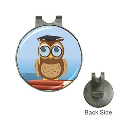 Read Owl Book Owl Glasses Read Hat Clips With Golf Markers