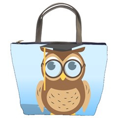Read Owl Book Owl Glasses Read Bucket Bags by Nexatart