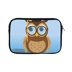 Read Owl Book Owl Glasses Read Apple Ipad Mini Zipper Cases by Nexatart