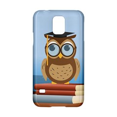 Read Owl Book Owl Glasses Read Samsung Galaxy S5 Hardshell Case  by Nexatart