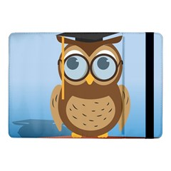 Read Owl Book Owl Glasses Read Samsung Galaxy Tab Pro 10 1  Flip Case by Nexatart