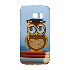 Read Owl Book Owl Glasses Read Galaxy S6 Edge by Nexatart