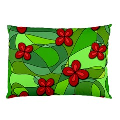 Flowers Pillow Case by Valentinaart