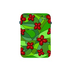 Flowers Apple Ipad Mini Protective Soft Cases by Valentinaart