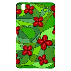 Flowers Samsung Galaxy Tab Pro 8 4 Hardshell Case by Valentinaart