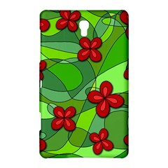 Flowers Samsung Galaxy Tab S (8 4 ) Hardshell Case  by Valentinaart