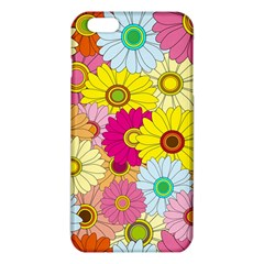 Floral Background Iphone 6 Plus/6s Plus Tpu Case by Nexatart