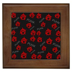 Anarchy Pattern Framed Tiles