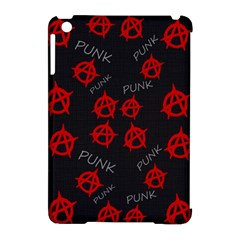 Anarchy Pattern Apple Ipad Mini Hardshell Case (compatible With Smart Cover) by Valentinaart