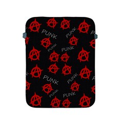 Anarchy Pattern Apple Ipad 2/3/4 Protective Soft Cases by Valentinaart
