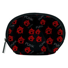 Anarchy Pattern Accessory Pouches (medium)  by Valentinaart
