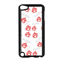 Punk Pattern Apple Ipod Touch 5 Case (black) by Valentinaart