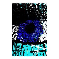 Blue Eye Shower Curtain 48  X 72  (small)  by Valentinaart