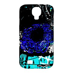 Blue Eye Samsung Galaxy S4 Classic Hardshell Case (pc+silicone) by Valentinaart