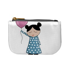 Valentines Day Girl Mini Coin Purses by Valentinaart