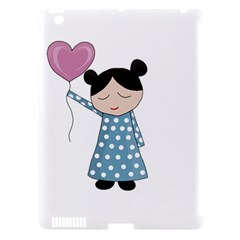 Valentines Day Girl Apple Ipad 3/4 Hardshell Case (compatible With Smart Cover)