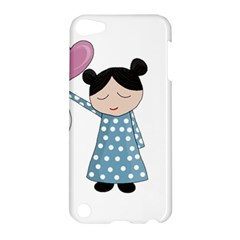 Valentines Day Girl Apple Ipod Touch 5 Hardshell Case by Valentinaart