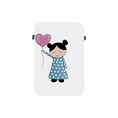 Valentines Day Girl Apple Ipad Mini Protective Soft Cases by Valentinaart