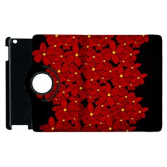 Red Bouquet  Apple Ipad 3/4 Flip 360 Case by Valentinaart