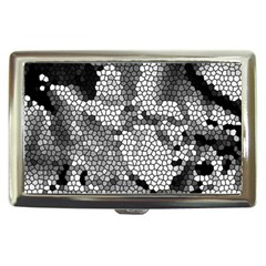 Mosaic Stones Glass Pattern Cigarette Money Cases by Nexatart