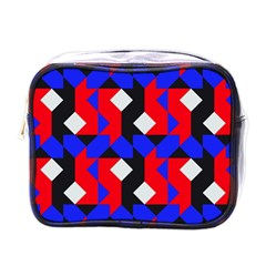 Pattern Abstract Artwork Mini Toiletries Bags by Nexatart