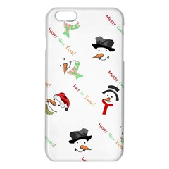 Snowman Christmas Pattern Iphone 6 Plus/6s Plus Tpu Case by Nexatart