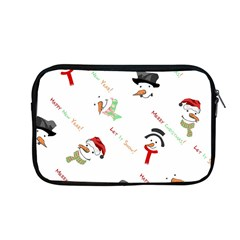 Snowman Christmas Pattern Apple Macbook Pro 13  Zipper Case