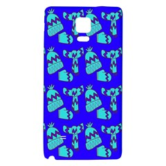 Winter Galaxy Note 4 Back Case by Nexatart