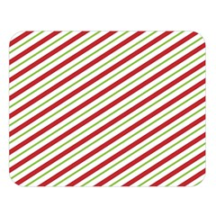 Stripes Double Sided Flano Blanket (large)  by Nexatart