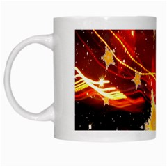 Holiday Space White Mugs