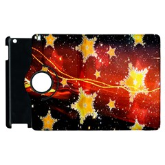 Holiday Space Apple Ipad 3/4 Flip 360 Case by Nexatart