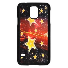 Holiday Space Samsung Galaxy S5 Case (black) by Nexatart