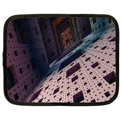 Industry Fractals Geometry Graphic Netbook Case (xxl)