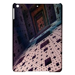 Industry Fractals Geometry Graphic Ipad Air Hardshell Cases by Nexatart