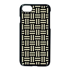 Wov1 Bk Mrbl Bg Lin Apple Iphone 7 Seamless Case (black) by trendistuff