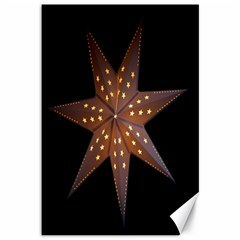 Star Light Decoration Atmosphere Canvas 12  X 18   by Nexatart
