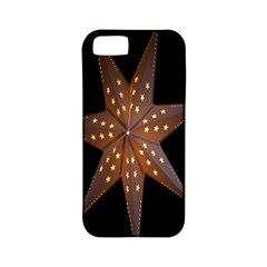 Star Light Decoration Atmosphere Apple Iphone 5 Classic Hardshell Case (pc+silicone)