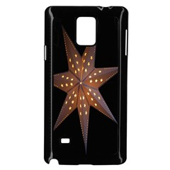 Star Light Decoration Atmosphere Samsung Galaxy Note 4 Case (black) by Nexatart