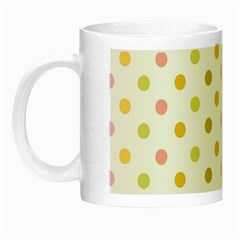 Polka Dots Retro Night Luminous Mugs