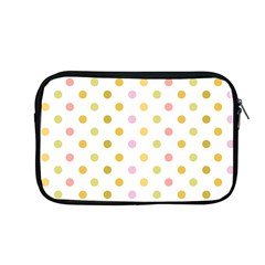 Polka Dots Retro Apple Macbook Pro 13  Zipper Case by Nexatart