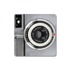 Vintage Camera Square Magnet