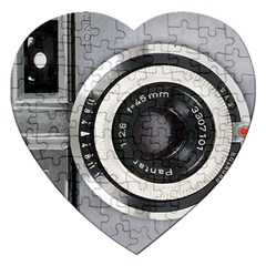 Vintage Camera Jigsaw Puzzle (heart)