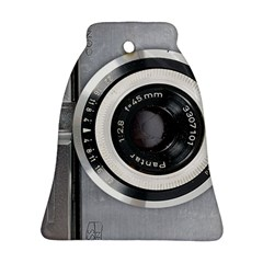 Vintage Camera Bell Ornament (two Sides)