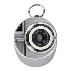 Vintage Camera Mini Silver Compasses by Nexatart