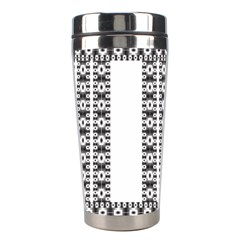Pattern Background Texture Black Stainless Steel Travel Tumblers by Nexatart